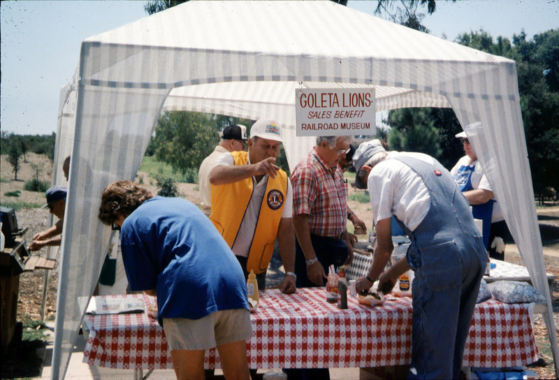 """The 1995 """"Steaming Summer"""" event was held June 24, July 22, and Aug. 26 (Goleta Lions food booth). acc2005.001.2091"""