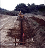 Digging trench for first footing.. acc2005.001.0009