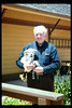 Agent Bob McNeel and his dog, Cyndee (not sure of spelling), 1994. acc2005.001.1938