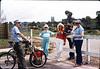 1987 Asphalt Regatta spring fundraiser - Ralph Moore, Gene Allen, Christine Negus, Phyllis Olsen, gary Coombs, Charlotte Moore. acc2005.001.0771