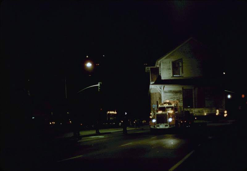 Night move, 11/18-19/1981. Michael Glassow photograph. Kellogg & Hollister. acc2005.001.0091E