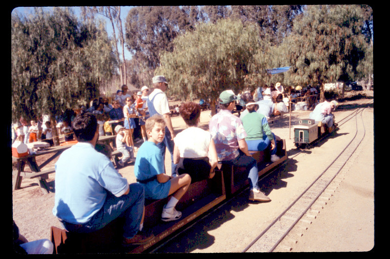 Depot Day train ride, 10/1990. acc2005.001.1426
