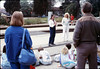 San Luis Obispo school rail trip (SB agent Toby Henke), 5/3/1989. acc2005.001.1128