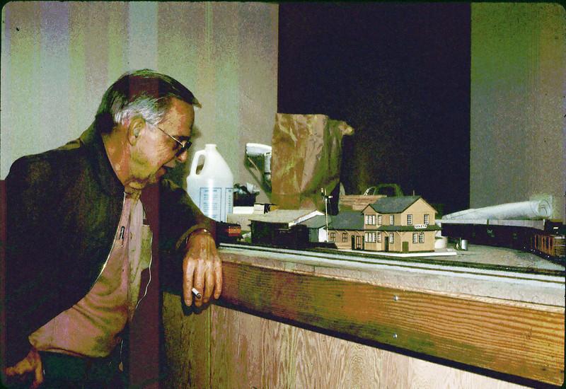 Model of Goleta Depot by William Cormack, M.D. 3/1986 acc2005.001.0567