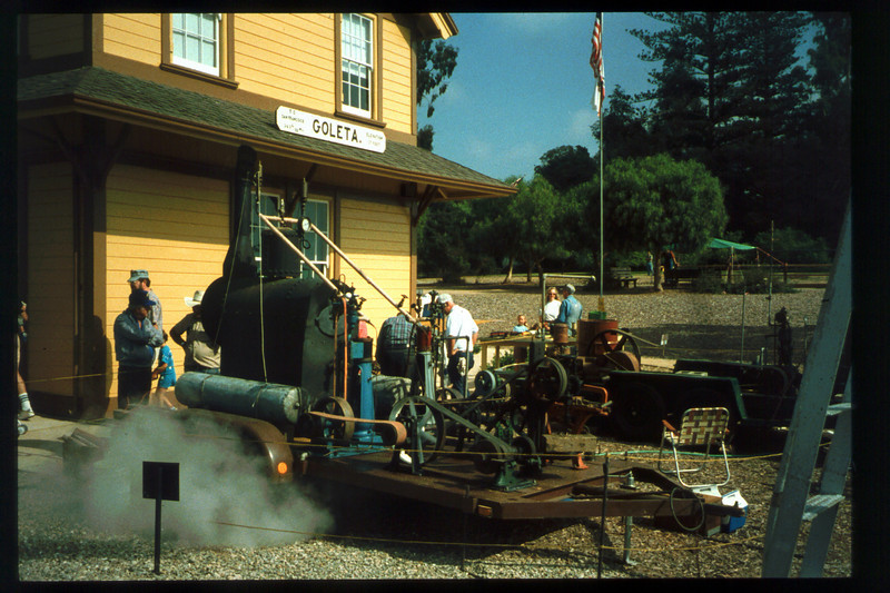 The 10th Annual Depot Day event was held on Sunday, Oct. 10, 1992. acc2005.001.1669