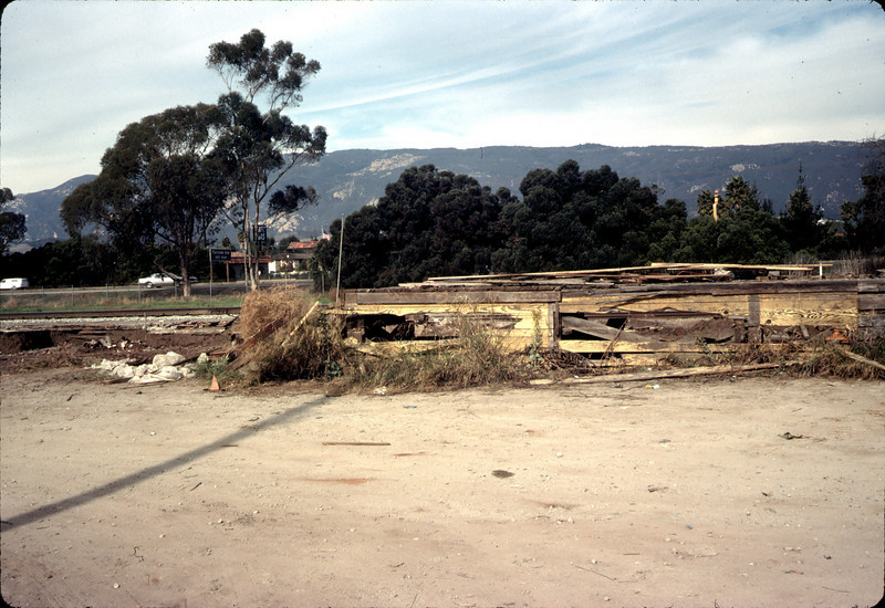 Old site, 11/19/1981. Loading dock. acc2005.001.0116