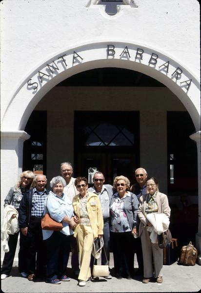 Sacramento museum rail trip group, 5/8/1986. acc2005.001.0588