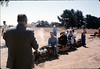 VIP Saturday, Santa Barbara Railroad Centennial (Joel Conway w/back to camera), 8/22/1987 acc2005.001.0847