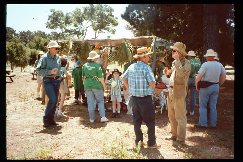 "Spring Fundraiser (13th annual) first had a ""Too-Fari Safari"" theme on May 21, 1994. acc2005.001.1926"