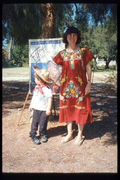 "Nicholas and Diana Mina attend ""El Tren de la Fiesta,"" Aug. 6, 1994. acc2005.001.1994"