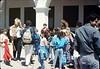 La Patera Elementary School rail trip, 5/6/1988. acc2005.001.0954