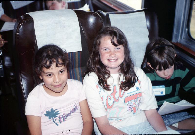 San Luis Obispo school rail trip, 5/3/1989. acc2005.001.1148
