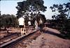 Hieter Family ballasting track at Goleta Depot, 1989. acc2005.001.1196