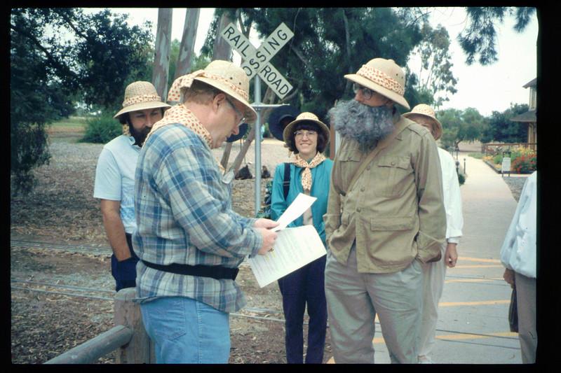 "The Spring Fundraiser (14th annual) had a ""Too-Fari Safari"" theme, May 20, 1995. acc2005.001.2063"