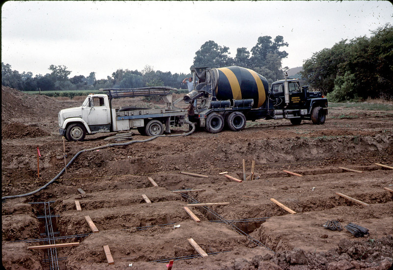 Granite construction cement delivery 11/12/1981.. acc2005.001.0044