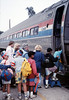 Museum leads Vieja Valley Elementary School rail trip to Glendale, 4/1989. acc2005.001.1067