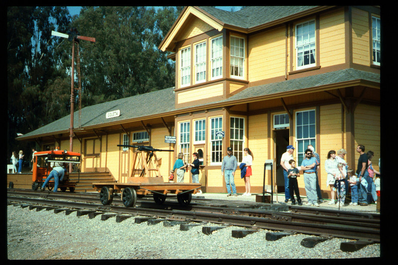 The 10th Annual Depot Day event was held on Sunday, Oct. 10, 1992. acc2005.001.1693