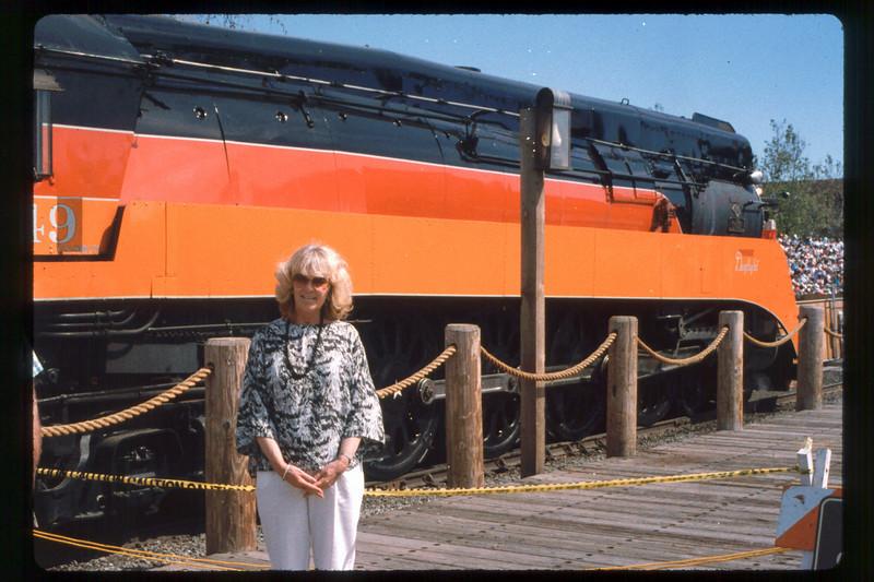 California State Railroad Museum, Sacramento trip (Phyllis Olsen), 1991. acc2005.001.1472
