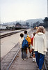 Museum leads Vieja Valley Elementary School rail trip to Glendale, 4/1989. acc2005.001.1063