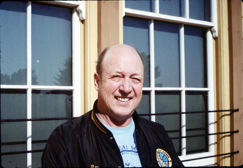 Volunteer agent Bev Casselman, 12/1987. acc2005.001.0895
