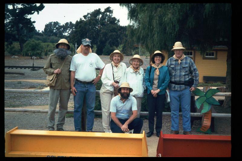 "The Spring Fundraiser (14th annual) had a ""Too-Fari Safari"" theme, May 20, 1995. acc2005.001.2060"