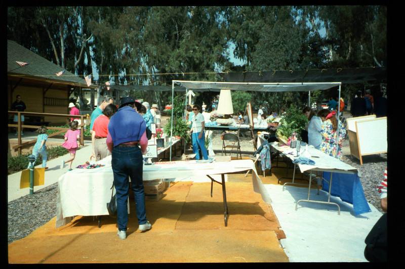 The 10th Annual Depot Day event (Silent Auction) was held on Sunday, Oct. 10, 1992. acc2005.001.1676