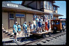 Depot Day handcar and speeder rides, 10/1990. acc2005.001.1401