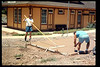 The Goleta Lions Club commissioned the construction of an 11x14-foot pad near the flagpole, to be used for the preparation and sale of food during special events, or for other museum activities, 1994. acc2005.001.1951