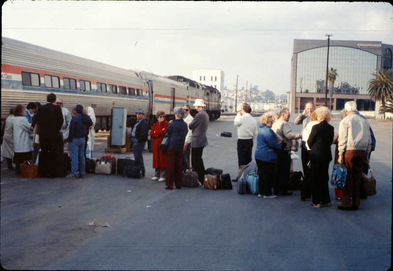 Sweetheart Special San Diego rail trip, 2/1989. acc2005.001.1048