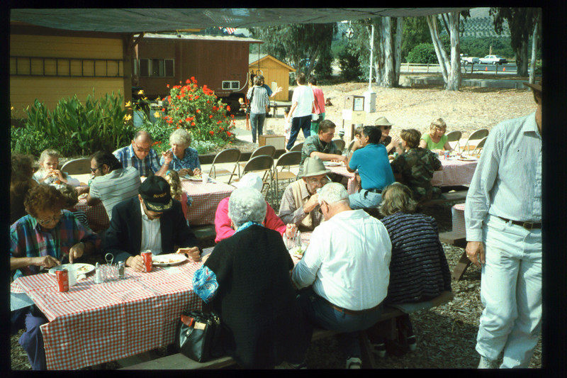 The 10th Annual Depot Day event (food) was held on Sunday, Oct. 10, 1992. acc2005.001.1685