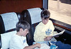 Museum leads Vieja Valley Elementary School rail trip to Glendale, 4/1989. acc2005.001.1075