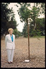 Memorial and tree-dedication honoring late museum benefactor Earl Hill, 8/8/1992. acc2005.001.1784