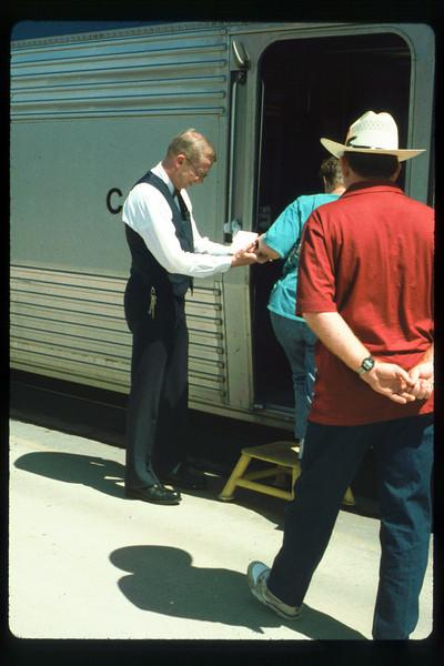 Amtrak trip to Washington, D.C., Fall 1991. acc2005.001.1544