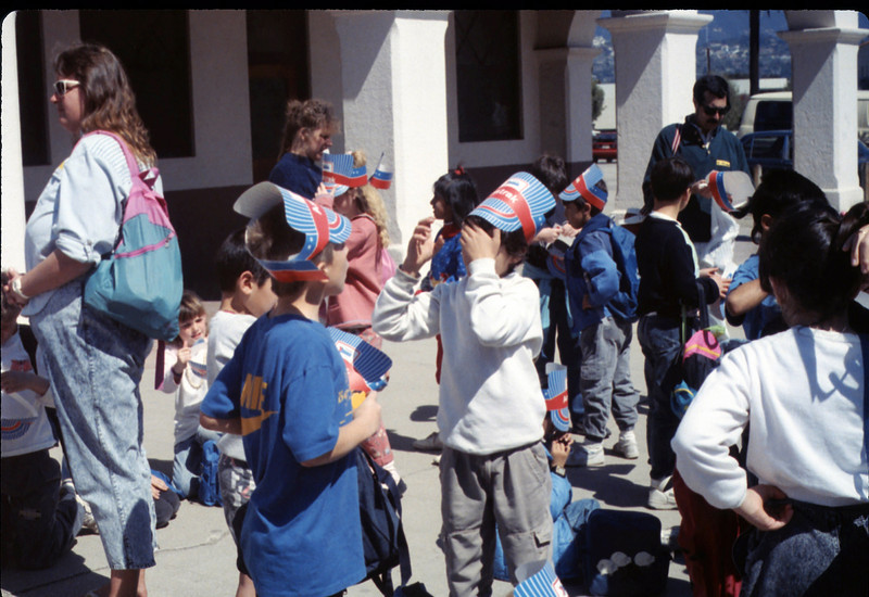 Hollister Elementary School 3rd Grade trip to San Luis Obispo, 3/14/1990. acc2005.001.1283