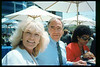 Museum Director Gary Coombs and Assistant Director Phyllis Olsen were guests of Amtrak on a demonstration run of the German ICE (Inter-City Express) train, Aug. 30, 1993. acc2005.001.1870