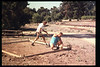 The Goleta Lions Club commissioned the construction of an 11x14-foot pad near the flagpole, to be used for the preparation and sale of food during special events, or for other museum activities, 1994. acc2005.001.1945
