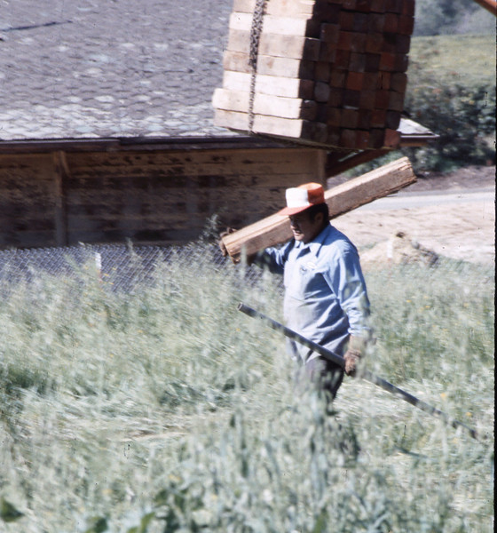 Movers packing up to leave the site, 3/2/1982. acc2005.001.0171