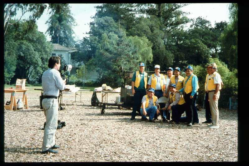 The 10th Annual Depot Day event (Native Sons barbecue) was held on Sunday, Oct. 10, 1992. acc2005.001.1673