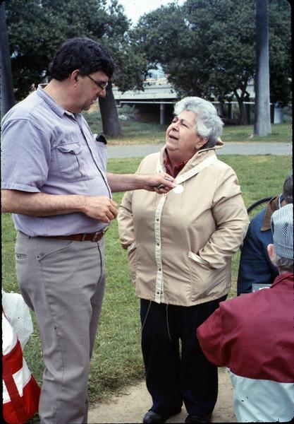Asphalt Regatta spring fundraiser (Jon Bartel and Theresa Caccese), 4/1989. acc2005.001.1097