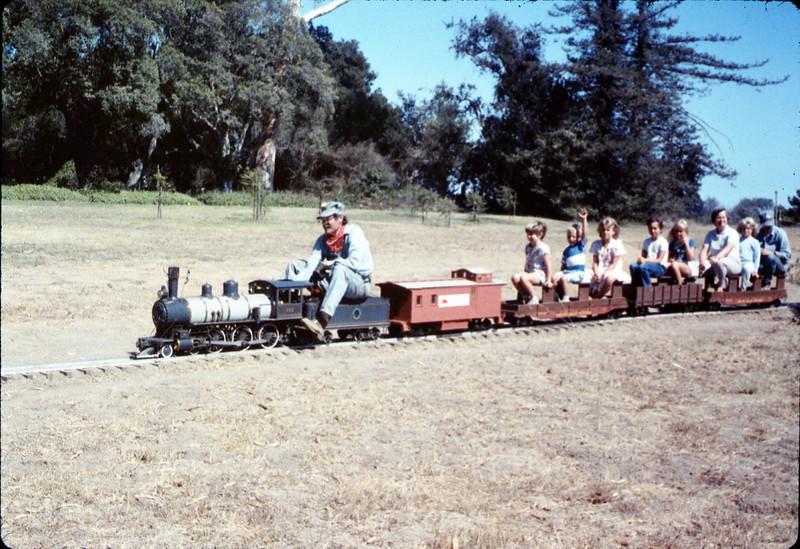 Santa Barbara Railroad Centennial (Perry Adams, engineer), 8/1987 acc2005.001.0858