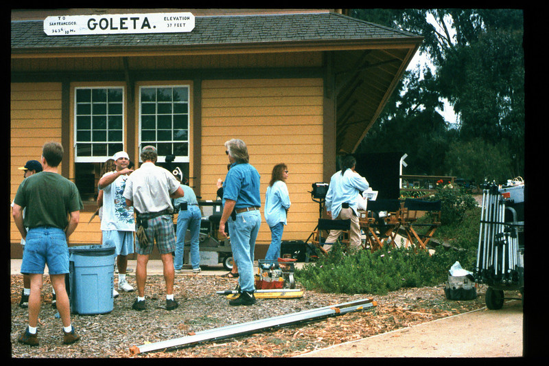 Goleta Depot appeared in a Kawasaki motorcycle commercial which was filmed in Sept. 1995 (Reported in the Depot Dispatch newsletter (Vol. 15, No. 4). acc2005.001.2105