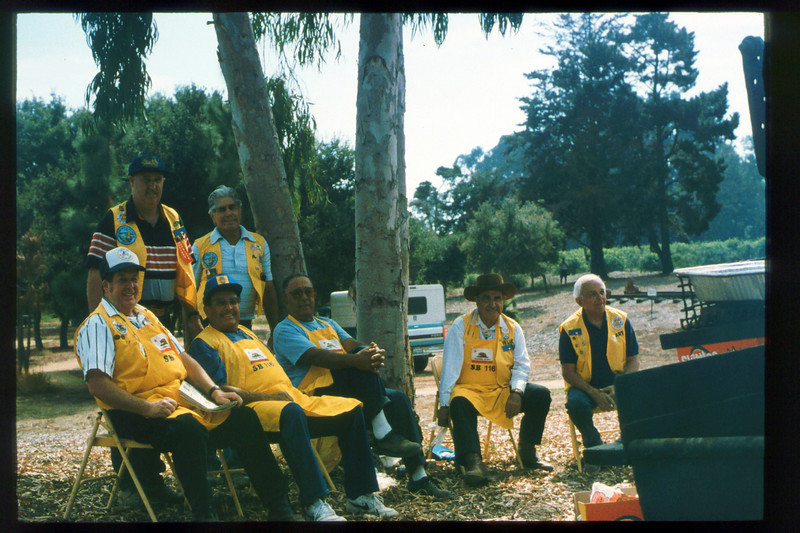 Depot Day 1995 was held Sept. 24 (Native Sons prepared the barbecue) acc2005.001.2113