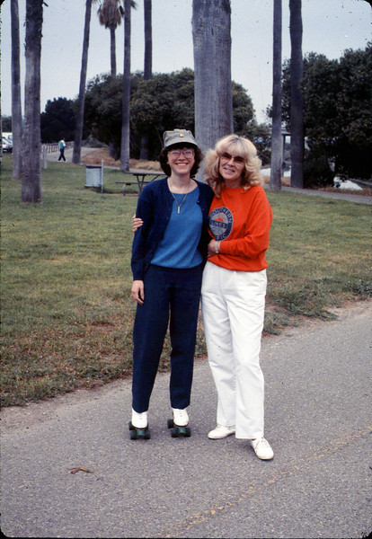 Asphalt Regatta spring fundraiser (Diana Mina and Phyllis Olsen), 4/1989. acc2005.001.1086