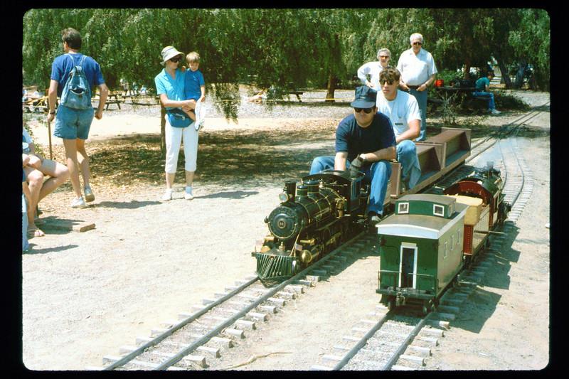 Depot Day (Steve Kramer), 9/1991. acc2005.001.1512