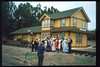 The traditional Santa Barbara Old Spanish Days Committee<br /> photograph was taken at Goleta Depot. The photo was published in the Santa Barbara<br /> News-Press on Aug. 1, 1993. acc2005.001.1829