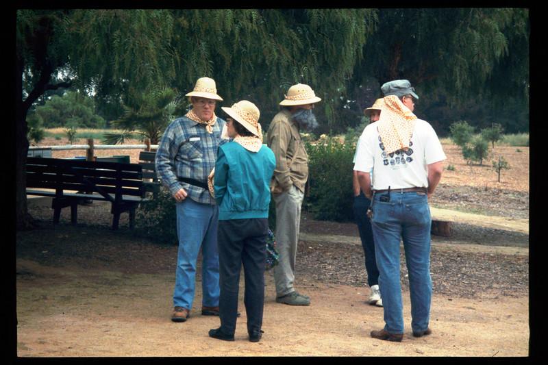 "The Spring Fundraiser (14th annual) had a ""Too-Fari Safari"" theme, May 20, 1995. acc2005.001.2057"