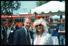 Museum Director Gary Coombs and Assistant Director Phyllis Olsen were guests of Amtrak (Bruce Heard) on a demonstration run of the German ICE (Inter-City Express) train, Aug. 30, 1993. acc2005.001.1869