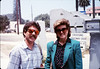 San Luis Obispo school rail trip (John Strickley and Iris Ellis), 5/3/1989. acc2005.001.1144