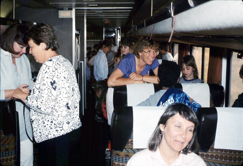 La Patera Elementary School rail trip to San Luis Obispo, 4/23/1987. acc2005.001.0783