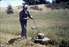Volunteer Al Jaramillo, Work Day, 3/1988. acc2005.001.0911